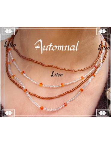 Collier Automnal