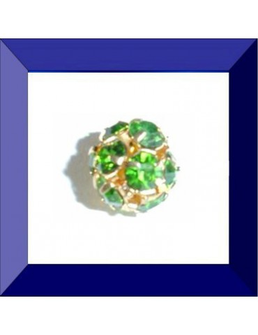 Boule strass 10 mm...