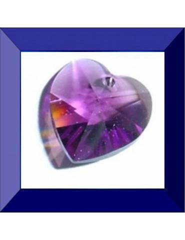 Cœur 10,3 X 10 mm Amethyst