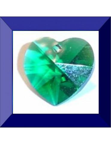 Cœur 10,3 X 10 mm Emerald
