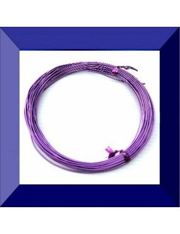 Fil aluminium violet...