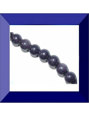 Perle Blue sand stone 8 mm