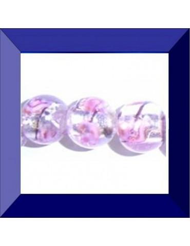 Perle en verre 10 mm Facon...