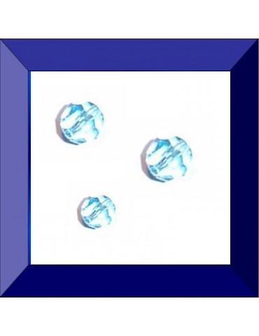 Perle ronde 6 mm Aquamarine...