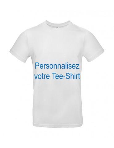 Tee-shirt Homme B & C Blanc