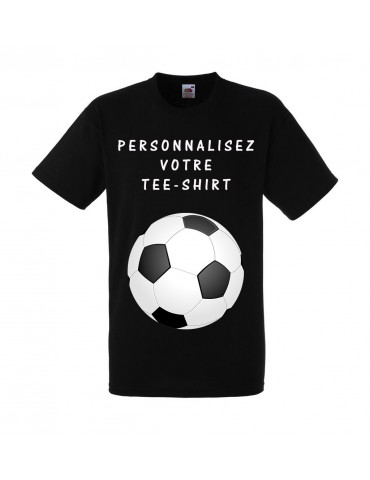 Tee-shirt Noir Homme Fruit...