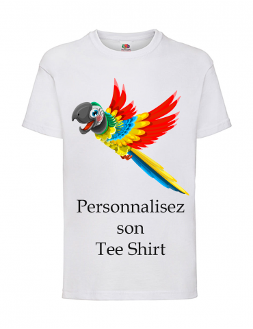Tee-shirt Blanc Garçon...