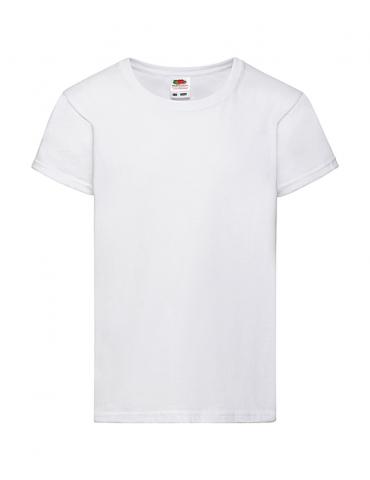 Tee-shirt Blanc Fille Fruit...